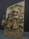 Benin bronze plaque 21.5 ins / 54 cms tall x 15.5 ins / 39 cms wide 10 kilos
