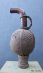 Calabash Palm Wine Gourd Cameroon 27 ins / 69 cms tall x 91.5 cms / 36 cms circumference