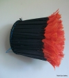 Cameroon feather hat 32 ins / 81 cms tip to tip x 31 ins / 79 cms circumference